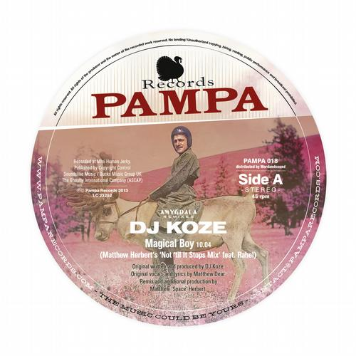 DJ Koze - Amygdala (Remixes Part 1) [Pampa PAMPA 018] (29 November, 2013)