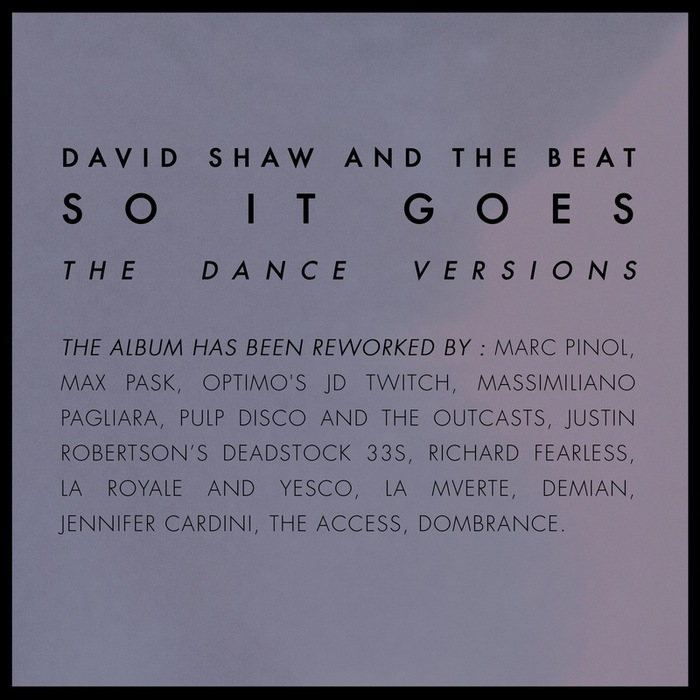 David Shaw & The Beat - So It Goes - The Dance Versions [Her Majestys Ship HMS010] (02-12-2013)