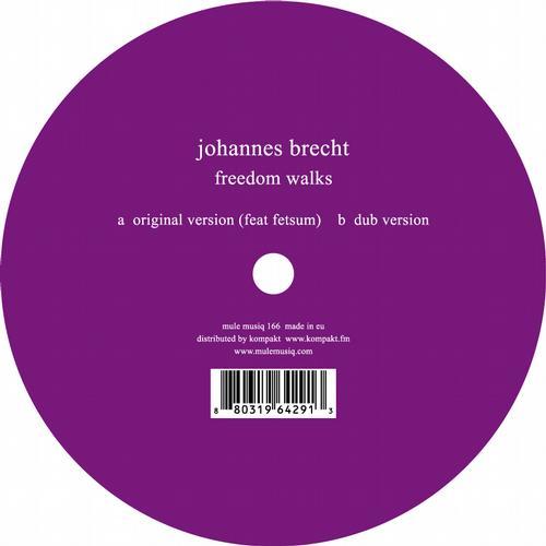Johannes Brecht - Freedom Walks [Mule Musiq MM166] (2013-11-25)