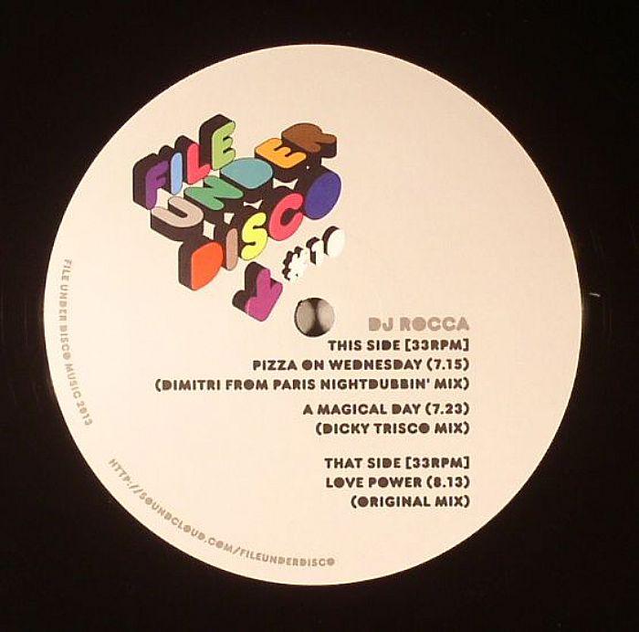 Dj Rocca - Love Power [File Under Disco FILEUNDERDISCO10] (09 Dec 2013)