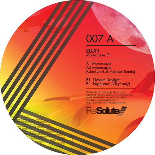 Elon - Mooncaper EP [ReSolute Label RES 007] (16 December 2013)