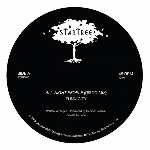 Funn City - All-Night People [Startree START001] (2013-12-09)