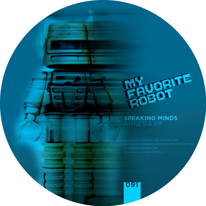 Speaking Minds - Amnesia EP [My Favorite Robot Records MFR 091] (27 January, 2014)