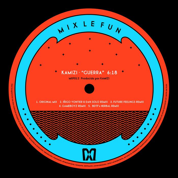 Kamizi - Guerra EP [Mix Le Fun MXF 012] (24 February, 2014)
