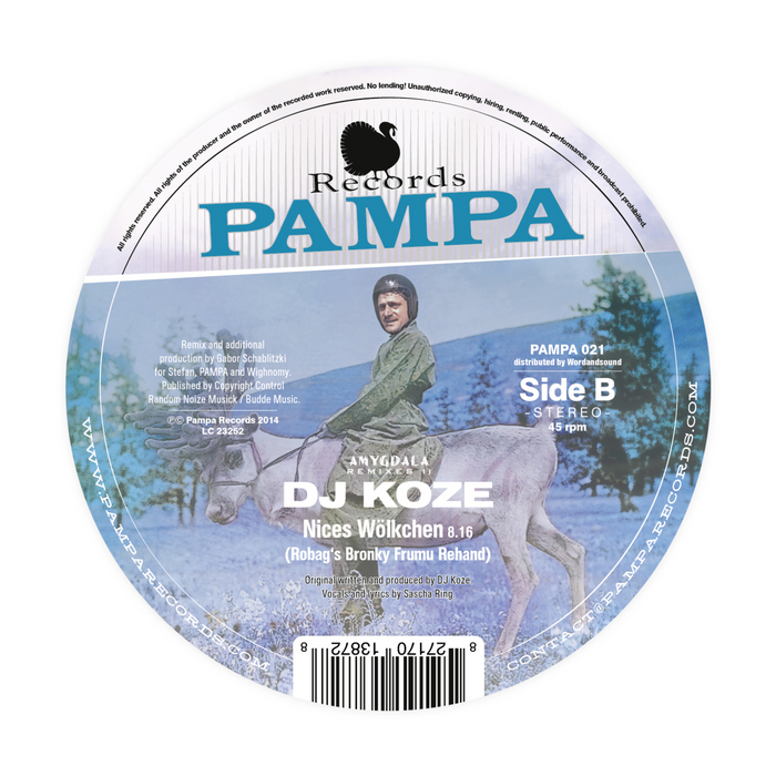 DJ Koze - Amygdala Remixes #2 [Pampa Records PAMPA021] (2014-03-28)