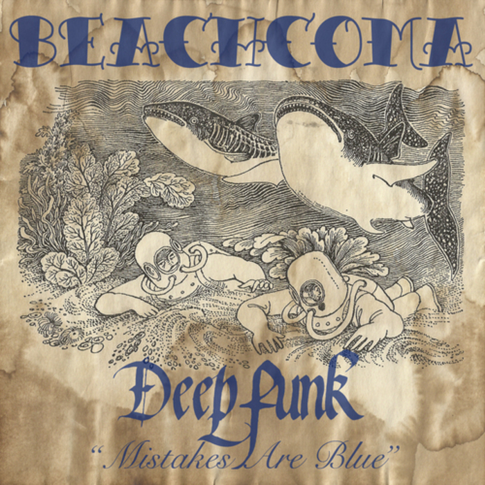Deepfunk - Mistakes Are Blue [Beachcoma BEACH032] (2014-05-12)