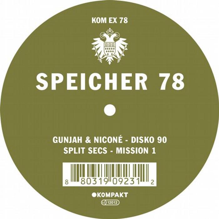 Gunjah & Nicone / Split Secs - Speicher 78 [Kompakt KOMPAKTEX78] (2014)