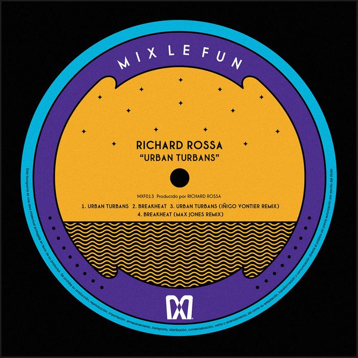 Richar Rossa - Urban Turbans [Mix Le Fun MXF 013] (9 June, 2014)