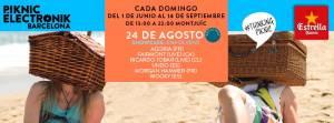 Piknic Electronik Barcelona #13- Showcase Envolvent (24 Agosto, 2014)