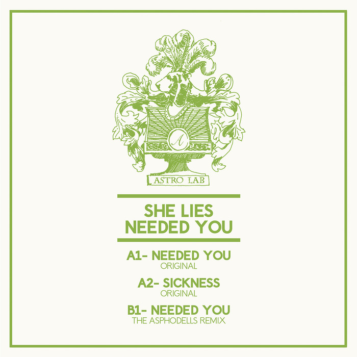 She Lies - Needed You [Astro Lab Recordings ALR 021] (11 August, 2014)