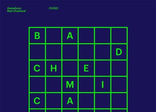 Gameboyz - Bad Chemical EP [Clouded Vision Recordings CLOUDED 022] (22 December, 2014)