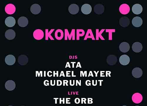 Green Ray 15 Lux curated by Michael Mayer [Kompakt Showcase] ( 20 Marzo 2015)