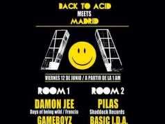 Back to Acid meets [Madrid] (2015) - Secret Location