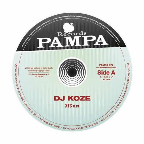 DJ Koze - XTC EP [Pampa Records PAMPA024] (19 June, 2015)