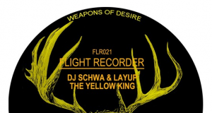 Dj Schwa y Layup - The Yellow King EP [Flight Recorder](2016)