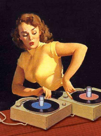 First woman dj