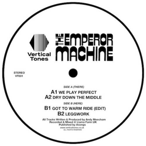 """The Emperor Machine - Voltage Controled 12"""" [Vertical Tones] (2017)"""