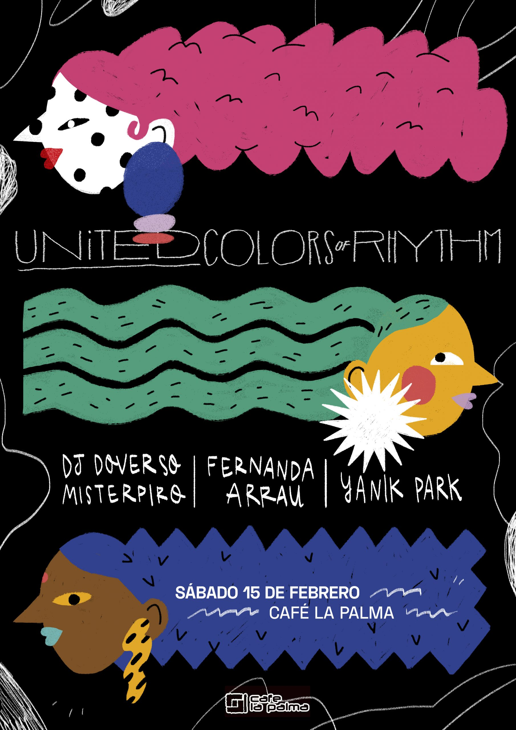 United Colors of Rhythm En Café La Palma
